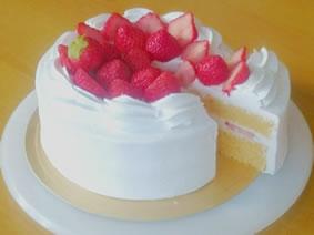 卵と乳製品不使用 ショートケーキ